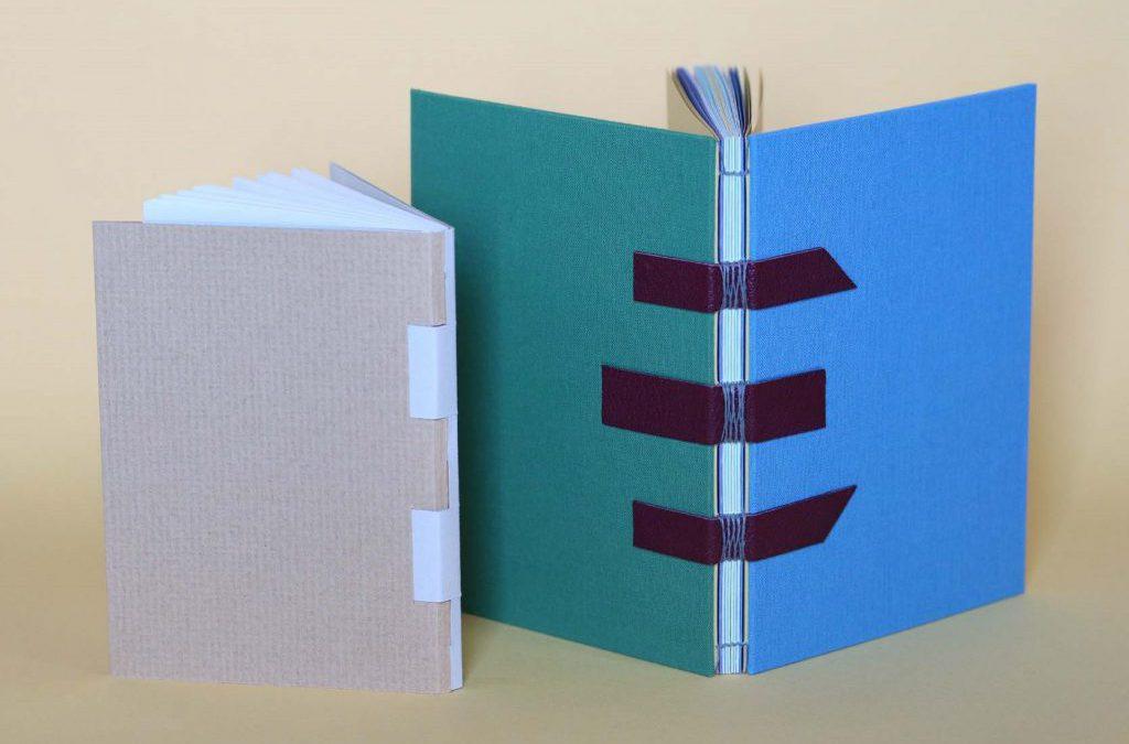 ルリユールの時間「オープン背表紙と交差式製本」